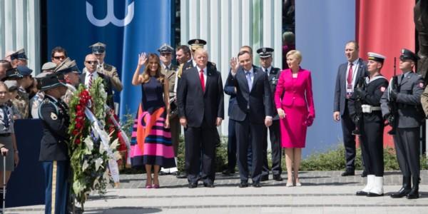 Texto Del Discurso De Donald Trump En Polonia.