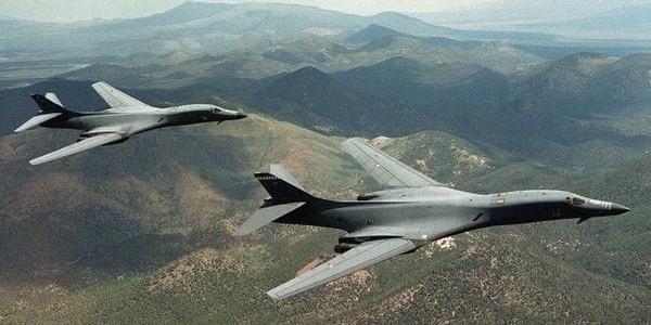 Estados Unidos Volvió A Responder A Kim Jong-un Desplegando Bombarderos B-1B En Torno A La Península Coreana.