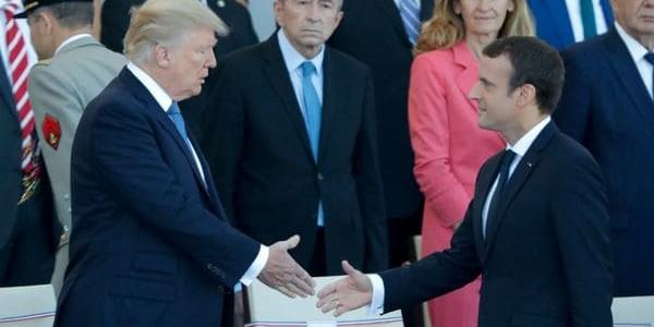 Donald Trump Asistió Al Desfile Militar Del Día De La Bastilla En París.