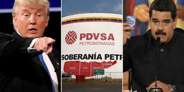 Donald Trump Evalúa Medidas En Contra Del Régimen De Nicolás Maduro.