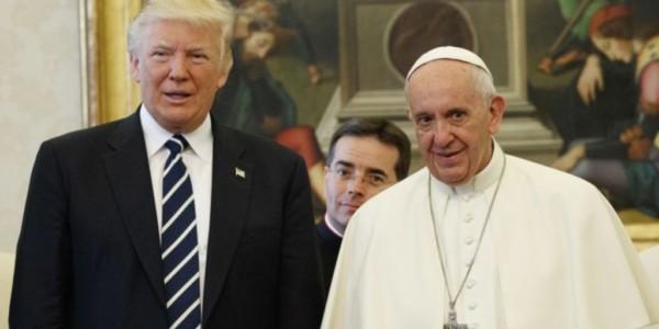 Evangélicos Partidarios De Trump Buscan Reunirse Con Papa Francisco.