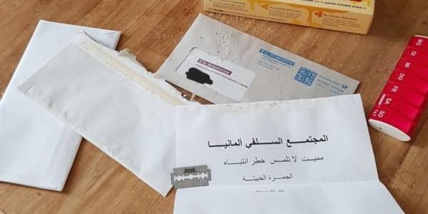 Varios Políticos Alemanes Reciben Cartas De Amenaza Escritas En árabe.