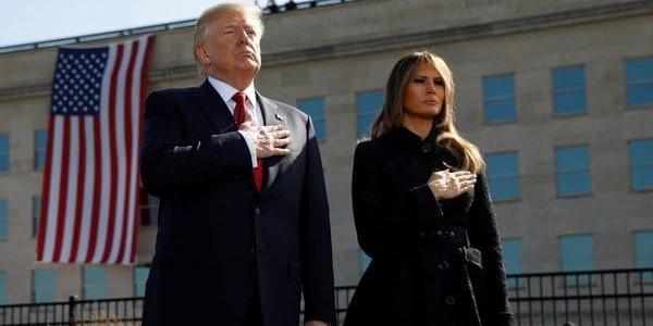 """Donald Trump, En El Homenaje A Las Víctimas Del 11-S: """"EEUU No Puede Ser Intimidado Y Los Que Lo Intenten Serán Derrotados"""""""