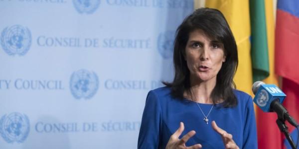 """Haley: """"Trump Tiene Razones Para Decir Que Irán Viola Pacto Nuclear"""""""