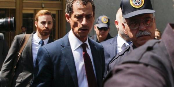 Sentencian A 21 Meses De Prisión Al Excongresista Demócrata Anthony Weiner Por Enviar Mensajes Sexuales A Una Menor.