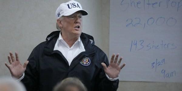 """El Presidente Donald Trump Declaró A Puerto Rico """"zona De Desastre"""""""