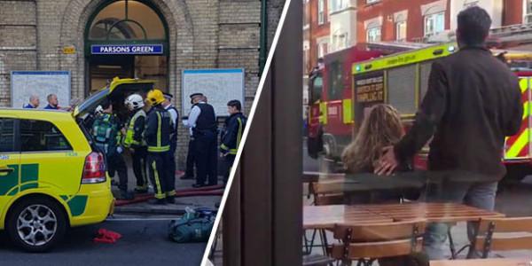 """La Policía Investiga Como """"incidente Terrorista"""" La Explosión Del Metro De Londres."""