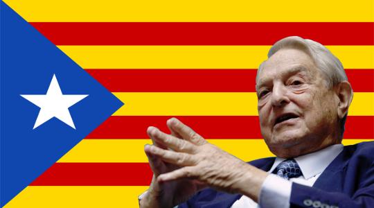 El Multimillonario George Soros Financia El Independentismo Catalán.