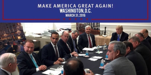 LO ULTIMO: Trump: Papadopoulos Era Voluntario De Bajo Nivel.