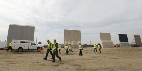 EEUU: Prototipos De Muro Fronterizo Listos Para Pruebas.