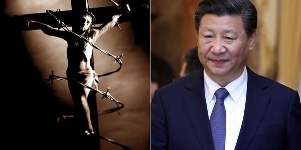Obligaron A Cristianos Chinos A Sustituir Retratos De Cristo Por Otros De Xi Jinping.