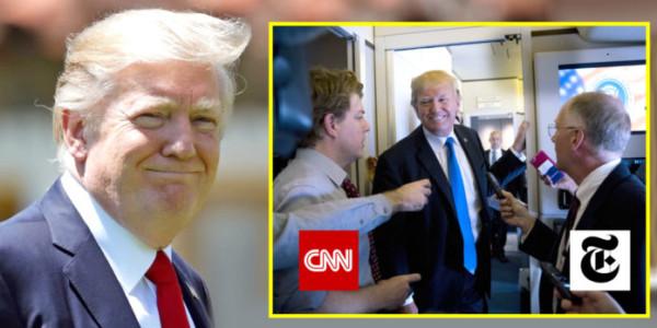 Trump DESTRUYE A CNN Y A Los Medios Falsos Después De Regresar De Su Exitosa Gira Por Asia.