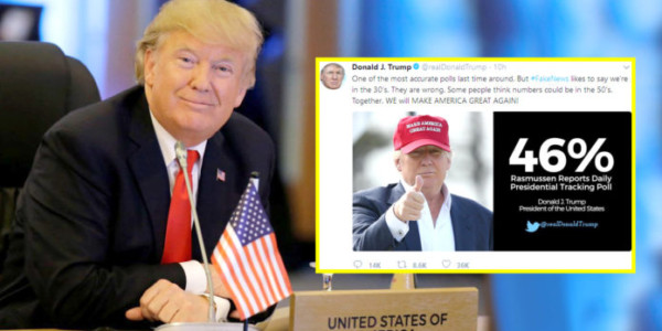 El Presidente Trump CELEBRA Que Los Ataques De Los Medios FALSOS No Han Funcionado.