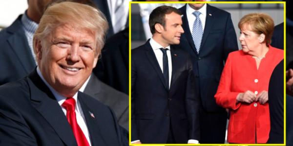 Los Medios FALSOS Reciben Malas Noticias Sobre Cómo Trump Se Compara Con Líderes Europeos.