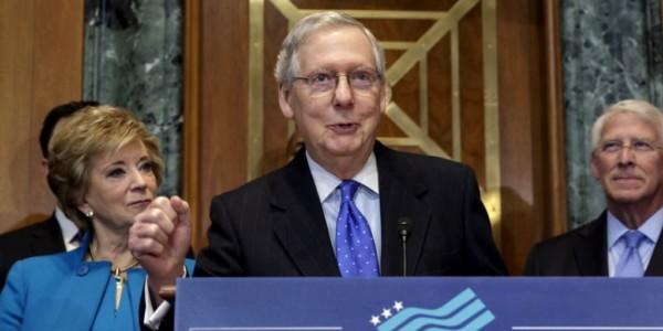 """Senador McConnell: """"Tenemos Los Votos Para Aprobar La Reforma Tributaria"""""""