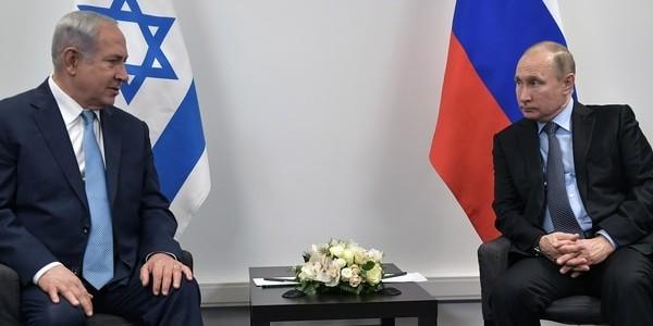 Vladimir Putin Recibe En Moscú Al Premier Israelí Benjamin Netanyahu Para Discutir La Guerra En Siria.