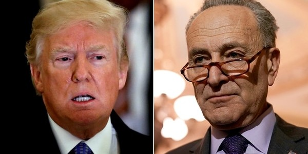 """""""Shutdown"""" En EEUU: La Respuesta De Donald Trump A Los Demócratas Que Retiraron La Oferta Para Financiar El Muro Con México."""