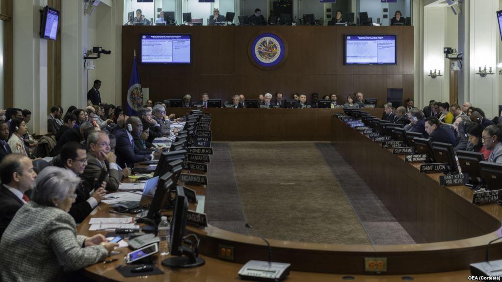 Resolución Sobre Venezuela Del Consejo Permanente.