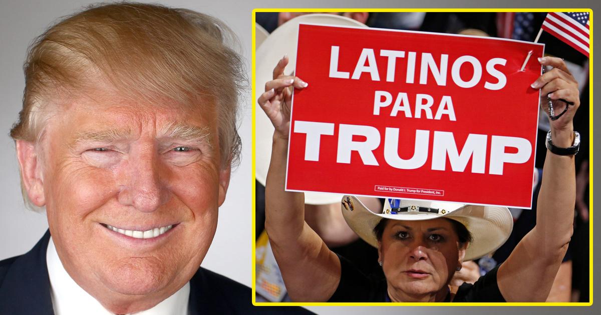 Nuevos Datos DESTRUYEN La Mentira De Que Trump Odia A Los Hispanos En EE.UU.