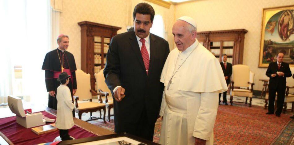 Maduro Busca Que El Papa Lo Proteja De Latinoamérica Y Donald Trump.