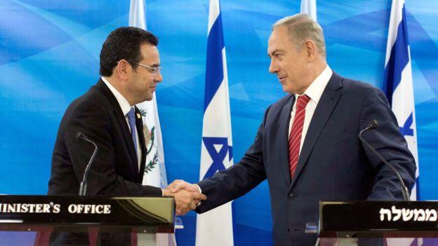Presidente Cristiano De Guatemala Pone Fecha Para La Apertura De Su Embajada En Jerusalén.