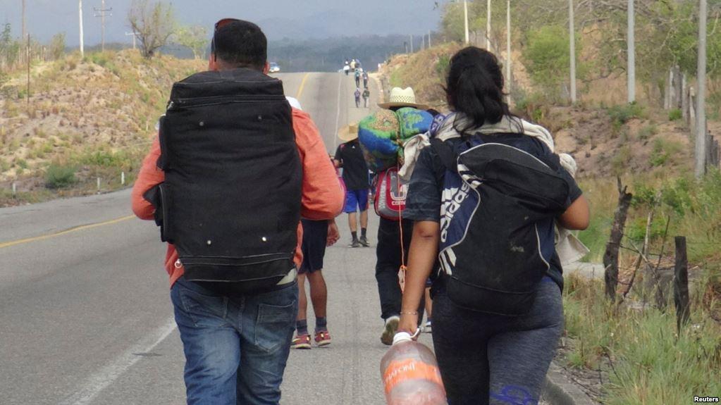 Trump Elogia A México Por Desmantelar Caravana De Migrantes.