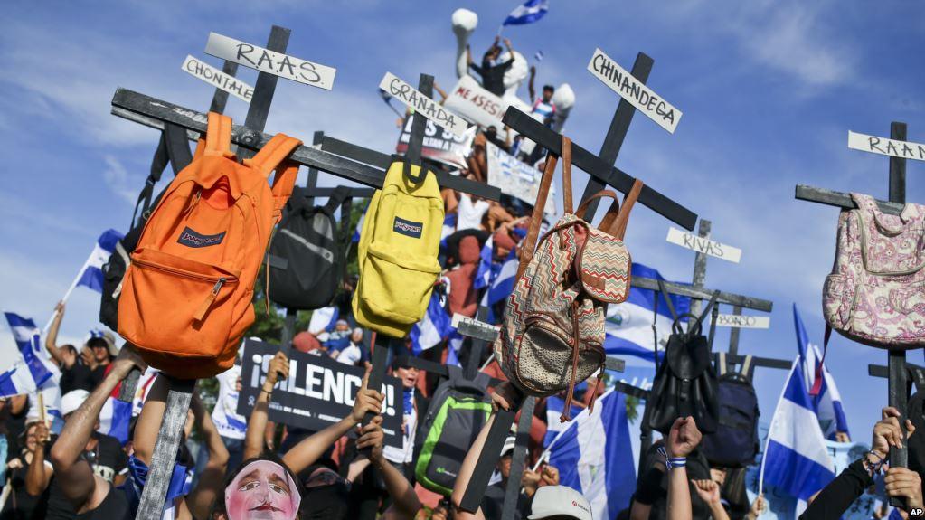 """EE.UU. Condena """"violenta Respuesta"""" A Marcha Pacífica En Nicaragua."""