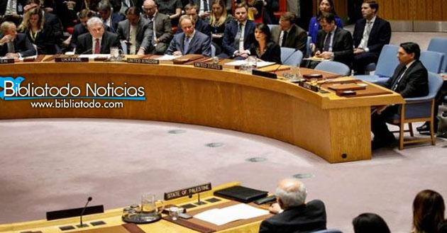 EE.UU. Fue El único País Que Defendió A Israel Ante La ONU Por El Ataque En Gaza.