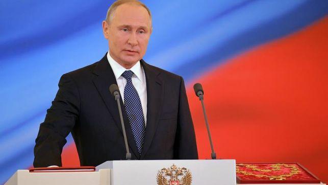 Putin Es Investido Presidente Ruso Por Cuarta Vez.