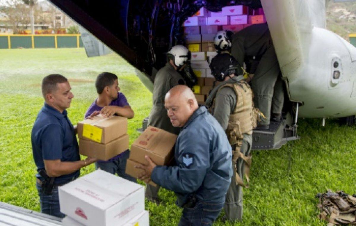 Menosprecio Noticioso A La Masiva Ayuda Federal En Puerto Rico.