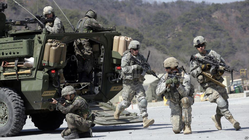 EE.UU. Y Corea Del Sur Suspenden Ejercicio Militar Programado.