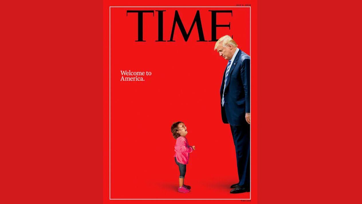 Manipulación De 'Time' Contra Trump: La Niña De Su Portada No Fue Separada De Su Madre.