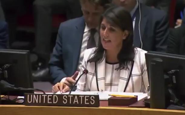 Valiente: Nikki Haley Critica Al Consejo De Seguridad De La ONU Por Negarse A Condenar A Hamas.