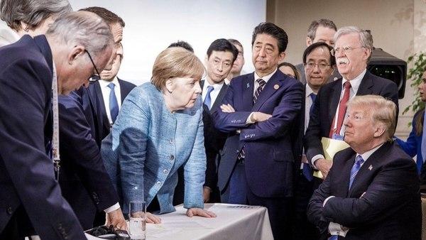 "Cumbre Del G7: Donald Trump Afirmó Que ""se Acabó"" Que Otros Países Se Aprovechen De Estados Unidos."