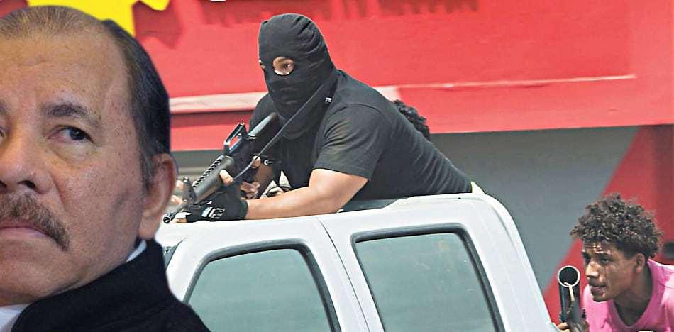 """Denuncian En Nicaragua A """"escuadrones De La Muerte"""" Al Servicio De Ortega."""