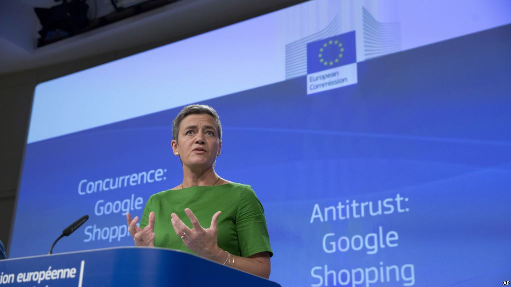 UE Multa A Google Con 4.300 Millones De Euros.