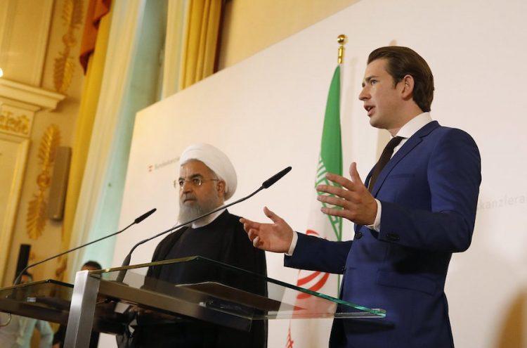 La Seguridad De Israel No Es Negociable, Dice Kurz A Rouhani.