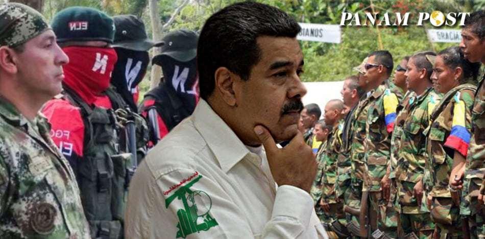 Tres Grupos Terroristas Han Operado Gracias Al Chavismo En Venezuela.