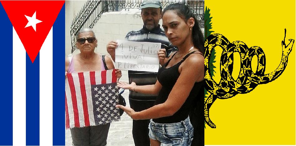 Detenida En Cuba Por Conmemorar El 4 De Julio.
