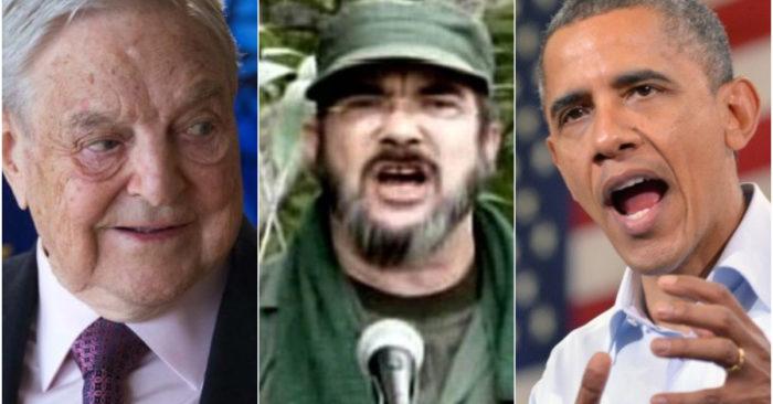 ONG Es Atacada Por Exponer Los Vínculos Entre George Soros, La Administración Obama Y Las FARC.