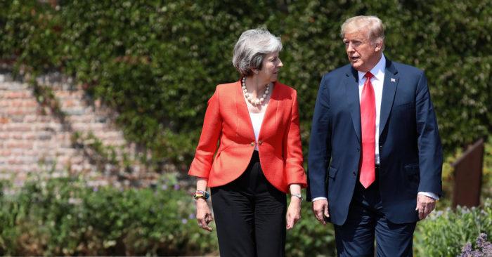 """Trump: """"La Relación Entre Estados Unidos Y Reino Unido Tienen El Más Alto Nivel De Especial"""""""