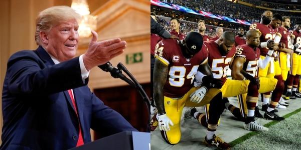 Donald Trump Le Pidió A La NFL Que Suspenda A Los Jugadores Que Protesten Durante El Himno.