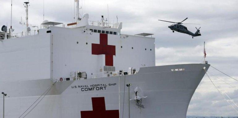 Administración Trump Enviará Buque Hospital Para Ayudar A Venezolanos.