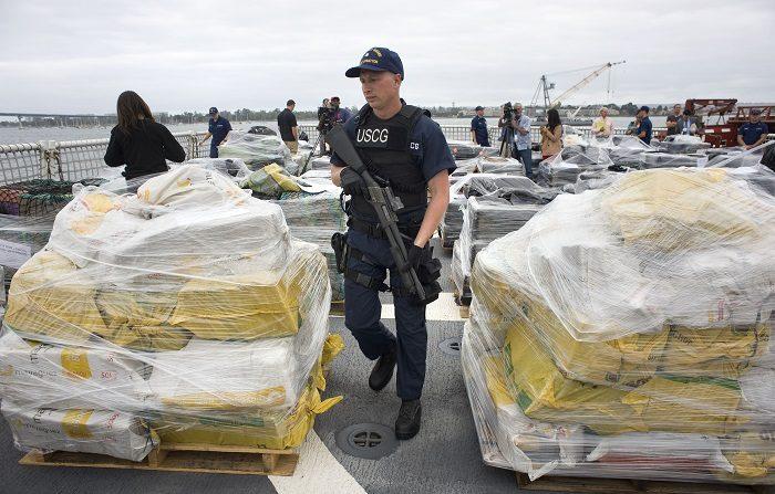 Guardia Costera De EE.UU. Desembarca 7 Toneladas De Cocaína Interceptada.