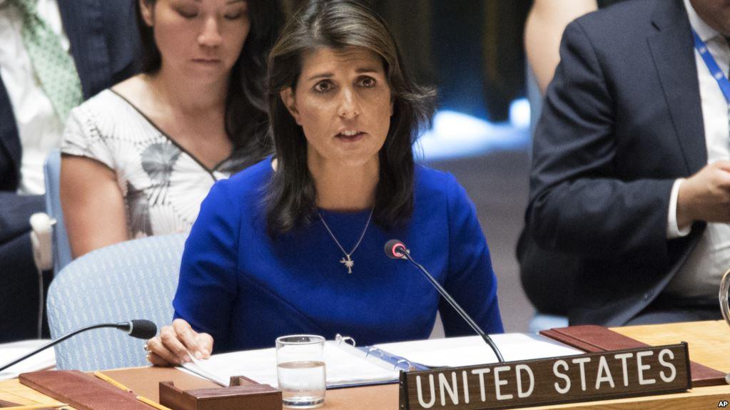Embajadora De EE.UU. Ante La ONU Advierte Sobre Riesgos Que Enfrenta Nicaragua.