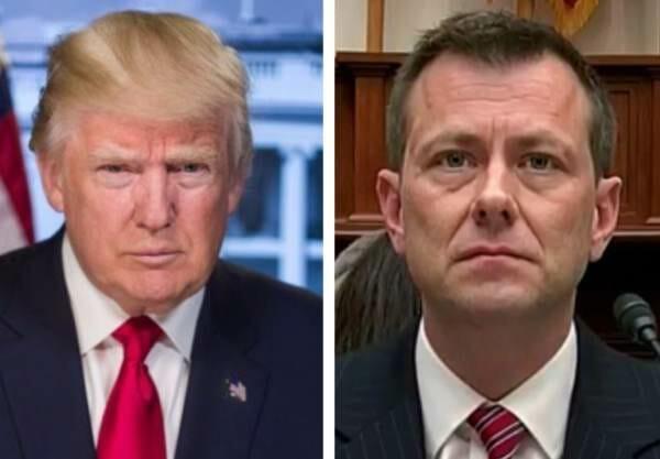 Trump Celebra Despido De Agente Que Escribió Mensajes En Su Contra.