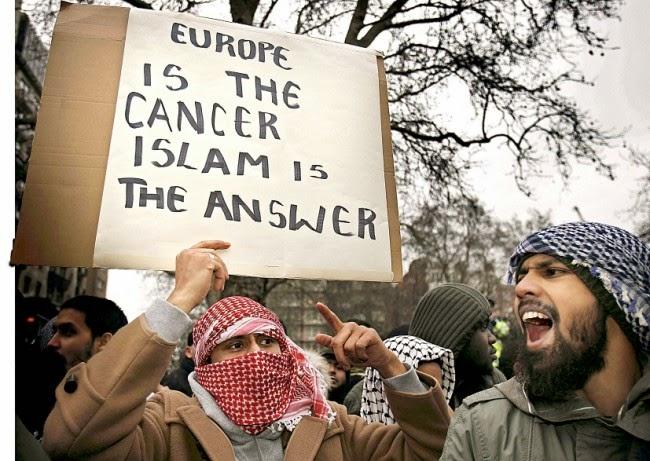 Islam, Violencia, Eurabia.