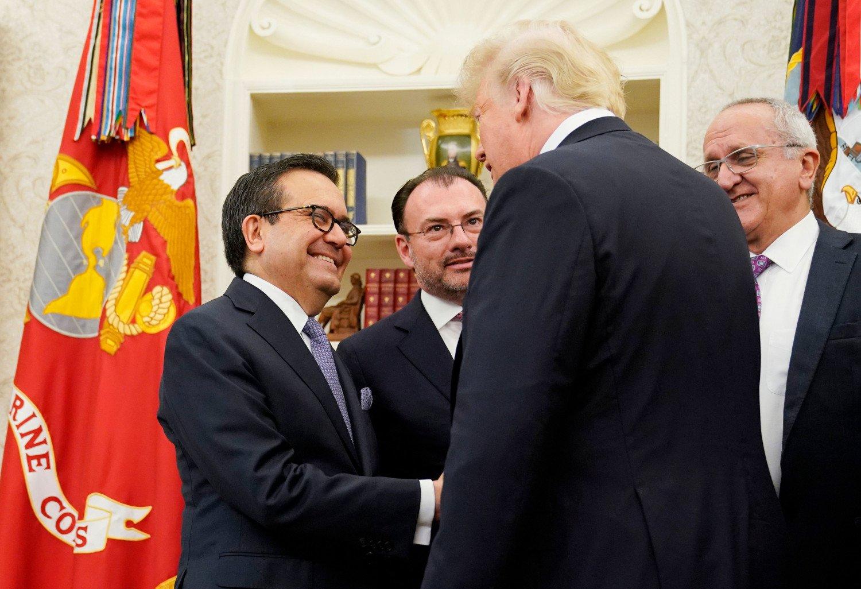 """México Y Estados Unidos Confirman Haber Llegado A Un """"gran Acuerdo"""" Sobre El TLCAN."""