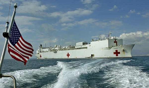 Cómo Es El USNS Comfort, El Buque Hospital Que Estados Unidos Enviará A América Latina.