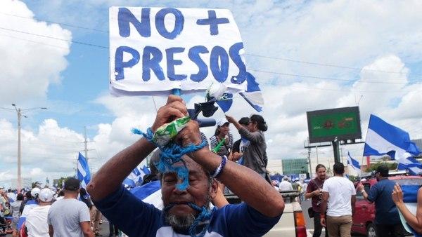 """Al Menos 120 Presos Políticos Del Régimen De Daniel Ortega Iniciaron Una Huelga De Hambre """"indefinida"""" En Nicaragua."""